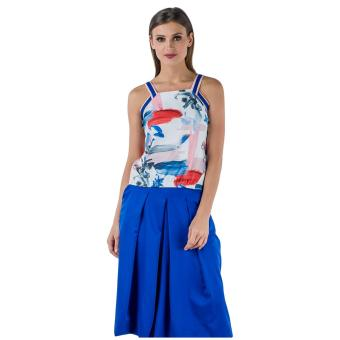 Harga Plains & Prints Jermaine Sleeveless Top (Multi)