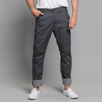 Harga BUM Men's Twill Chino Pants (Graystone)