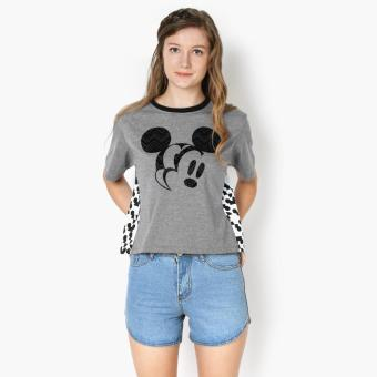 Harga Disney Mickey Mouse Teens Graphic Tee (Light Gray)