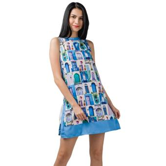 Harga Plains and Prints Nickleby Sleeveless Dress (Multi)