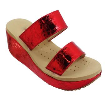 Seven Squared C-80103Ws Wedge Sandals (Red) Price Philippines