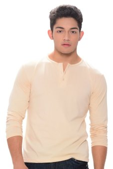 Harga Sunjoy Camisa de Chino Long Sleeves (Mocha)