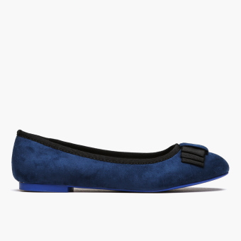 Harga Parisian Ladies Izzie Ballet Flats (Navy Blue)