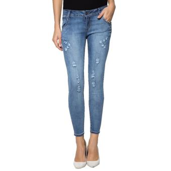 Fashion Balaynor Skinny Distressed Jeans Price Philippines