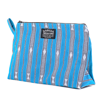 Harga Sagada Wristlets Cosmetic Native Bag Handmade (Sky Blue)