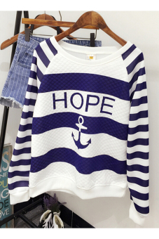 Jetting Buy Women Causal Sweatshirt Anchor Printed White Price Philippines