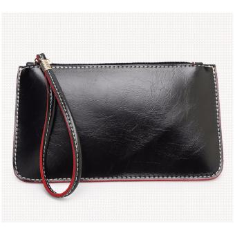 Korea candy leather pouch (Black) Price Philippines