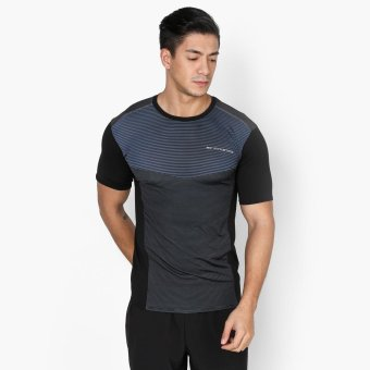 Harga Bo Athletics Mens Performance Tee (Indigo)