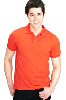 Harga BLKSHP Winner Polo (Safran Orange)