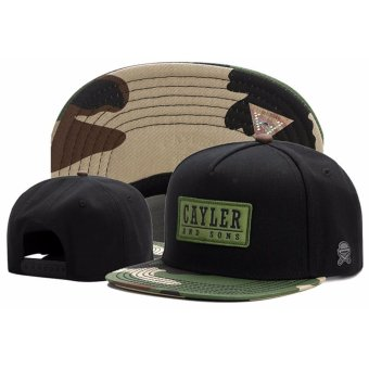 Unisex Cayler&Sons CL Garage Snapback Hat - intl Price Philippines