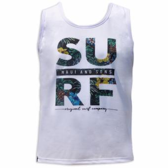 Maui and Sons Regular Dri Fit Sando ( White ) Price Philippines
