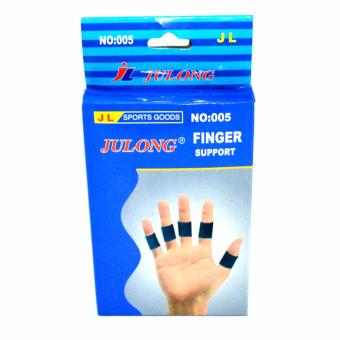 Harga Verygood-Julong Fitness Gear Finger Support (Blue)for bicycle motorcycle sport Fitness/volleyball/football/basketball