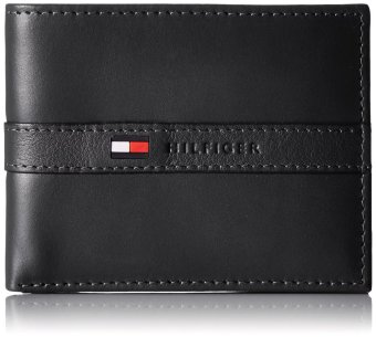 Tommy Hilfiger Leather Ranger Passcase Wallet (Black) Price Philippines
