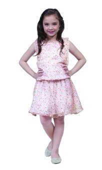 Harga Robby Rabbit Hearts Princess Chiffon Dress (Cream)