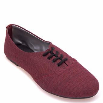Doll Me Up Shoes Ms Oxford (Burgundy) Price Philippines