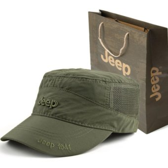 JEEP quick dry hat hat cap for men and women outdoor sunshadesports sun hat - intl Price Philippines