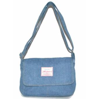 Jellybeans Sling bag washed Denim Jewel (Light Blue) Price Philippines