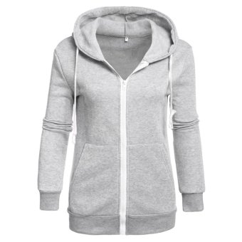 Jo.In New Fashion Women Hoodie Sweatshirt Sweater Casual Hooded Top- intl