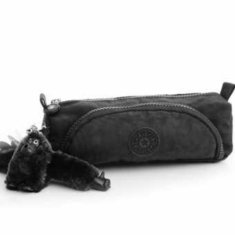 Klpllng Fashion Women's canvas Clutches wallet Multifunctional Penbag(Black) - intl