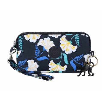 Klpllng Fashion Women's Canvas Wallet(blue) - intl