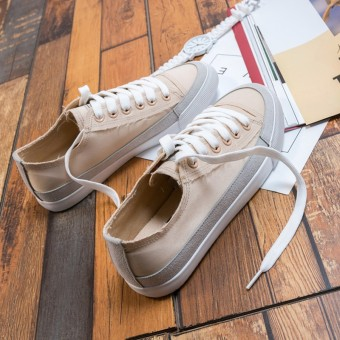 Korean-style female student New style shoes canvas shoes (Casual color)