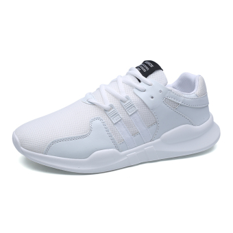 Korean-style running trendy shoes athletic shoes (2267 white)