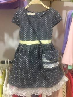 Korean-style Spring and Autumn girls vest dress