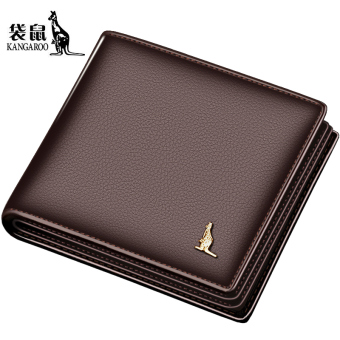 Leather business Cross Youth leather wallet (Brown color)