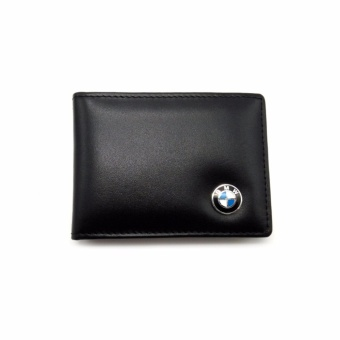 Leather Car License Bag Credit Card Holder BMW Logo Driver LicensePackage For BMW E90 F10 F30 E34 F20 X5 E53 E30 X6 X1 X3 E46 E39 -intl
