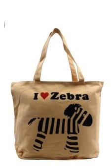 London Fashion I Love Zebra Tote Bag Price Philippines