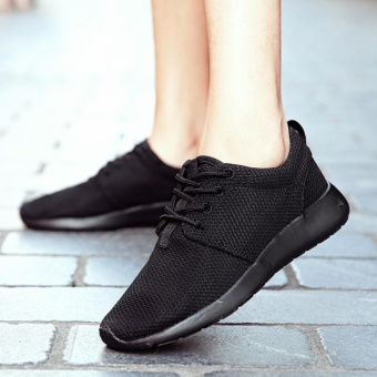London roshe run small cloth shoes female couple (EU36-44) BLACK - intl