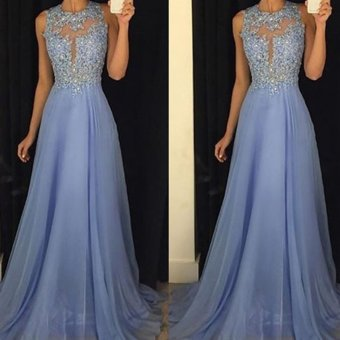 Long Formal Prom Dress Cocktail Party Ball Gown Evening BridesmaidDresses - intl