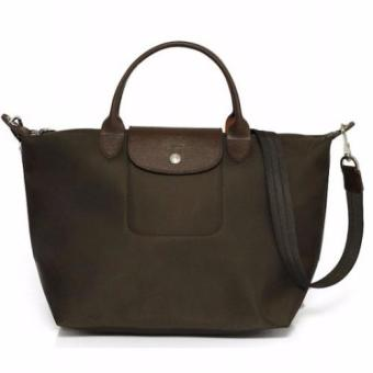 Longchamp Le Pliage Neo Medium Handbag (Coffee)