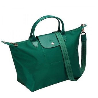 Longchamp Le Pliage Neo Medium Nylon Tote Bag (Emerald Green)