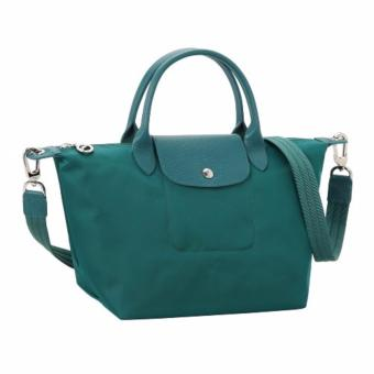 Longchamp Le Pliage Neo Small Handbag (Emerald Green)