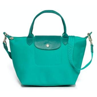 Longchamp Le Pliage Neo Small Handbag (Teal)