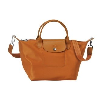 Longchamp Le Pliage Neo Small Nylon Tote Bag (Caramel)