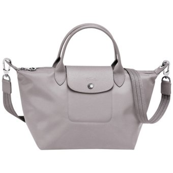 Longchamp Le Pliage Neo Small Nylon Tote Bag (Grey)
