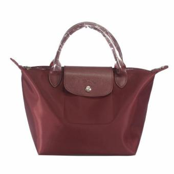 Longchamp Neo Le Pliage Medium Tote Bag (maroon)