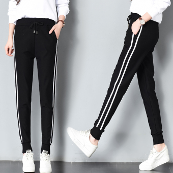 LOOESN female spring New style casual pants athletic pants