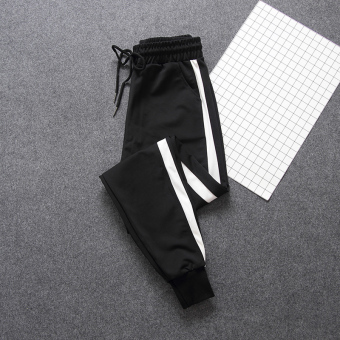 LOOESN Korean-style student style New style autumn casual pants athletic pants (Closing foot section)