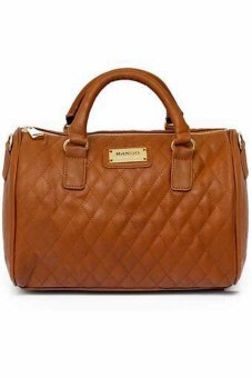 Mango Quilted Boston Bag (Caramel) Price Philippines