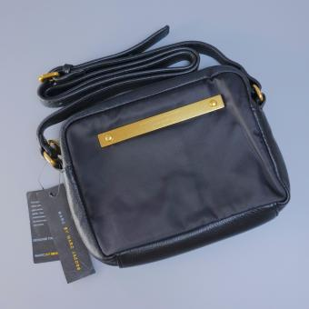 Marc Jacobs crossbody nylon and leather ( black )
