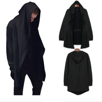 Men cardigan wizard Hoodies cloak cape coat - intl