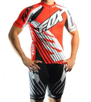 Men Cycling Jersey and Non Bib Shorts Set Quick Dry Gel Padded Clothing-FNM (FX3)