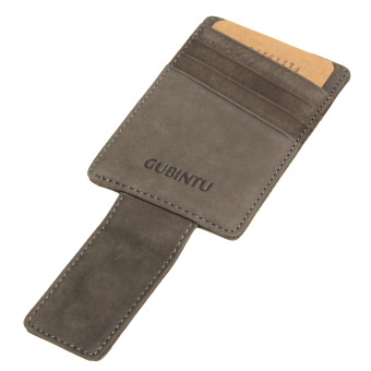 Men Genuine Leather Thin Wallet ID Money Credit Card Slim Holder