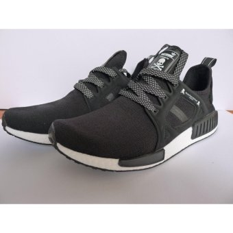 MEN NMD Mastermind Japan X XR1 Fashion Sneakers Running Shoes(Black)