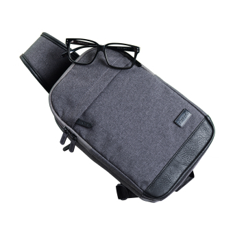 Men Nylon Tactical Military Travel Hiking Shoulder Sling Messenger Chest Bag.