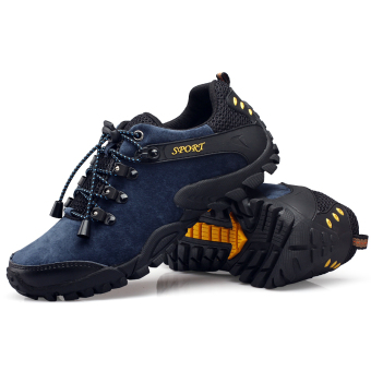 Men Waterproof Hiking Climbing Shoes Winter Outdoor Mountain boots