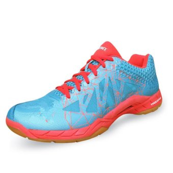 Men's Badminton Shoes High Quality Table Tennis Shoes Light Weight Indoor Sneakers Sport Shoes (Blue) - intl